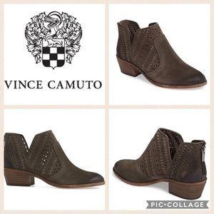 Vince Camuto Prasata booties leather